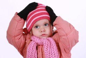 kislány télen